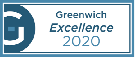 Greenwich Excellence 2020 Award Badge